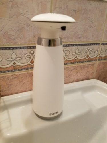 Dispensador de jabón automático photo review
