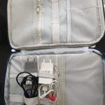 Organizador portable para suministros electrónicos photo review
