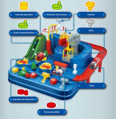 AdventureCar Juguete interactivo para desarrollar la creatividad en los niños