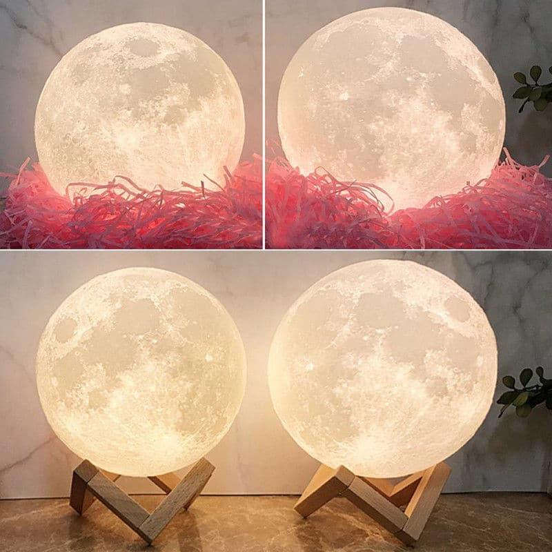 Lámpara de Luna decoración Hogar Gocomparador